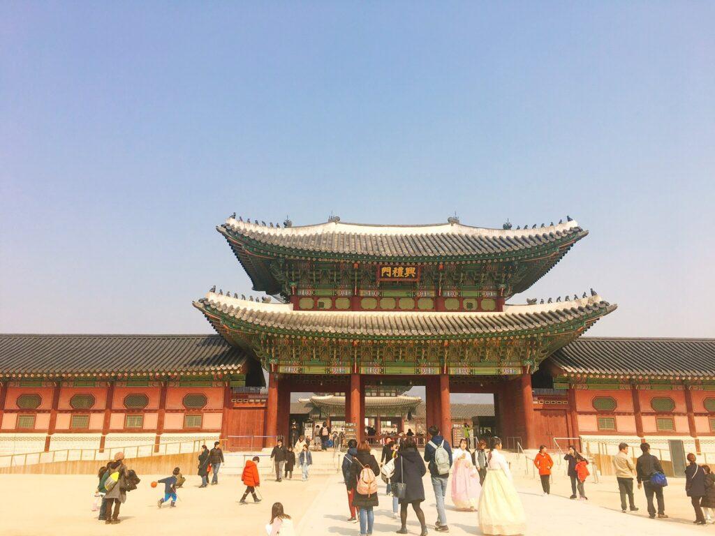 韓国での思い出